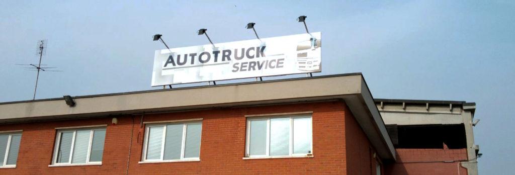 Insegna da tetto Autotruck Leinì