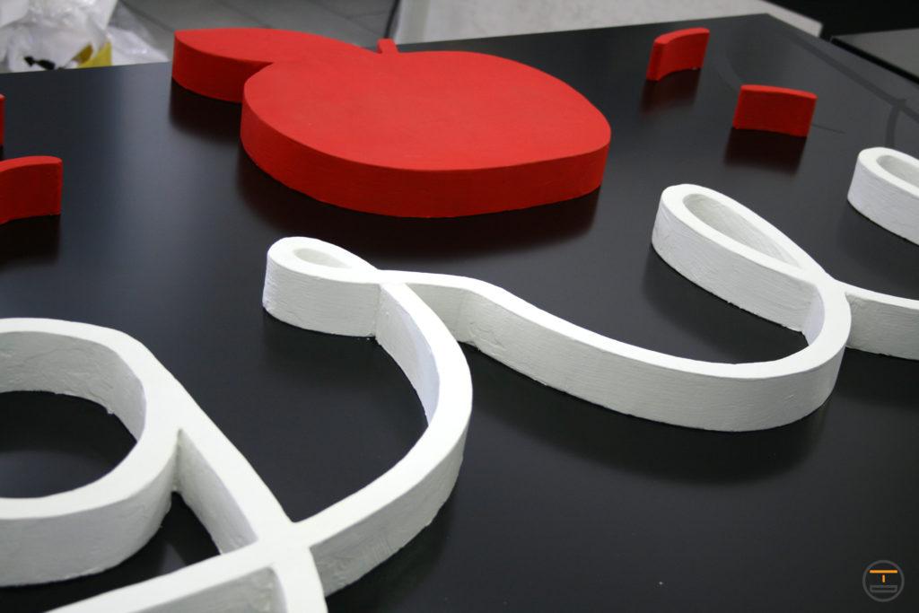 Insegne 3D e Interni a Torino