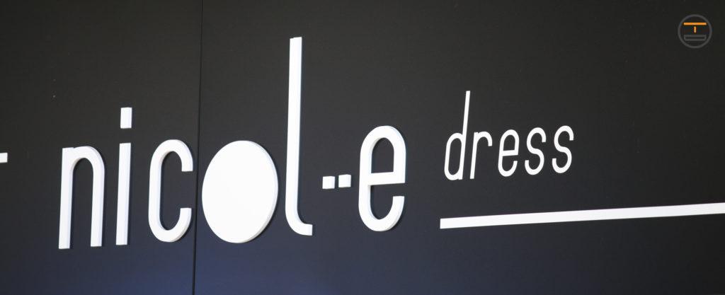 Insegna 3D Pannello in centro a Torino