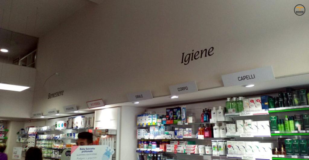 Allestimento Interni Farmacia