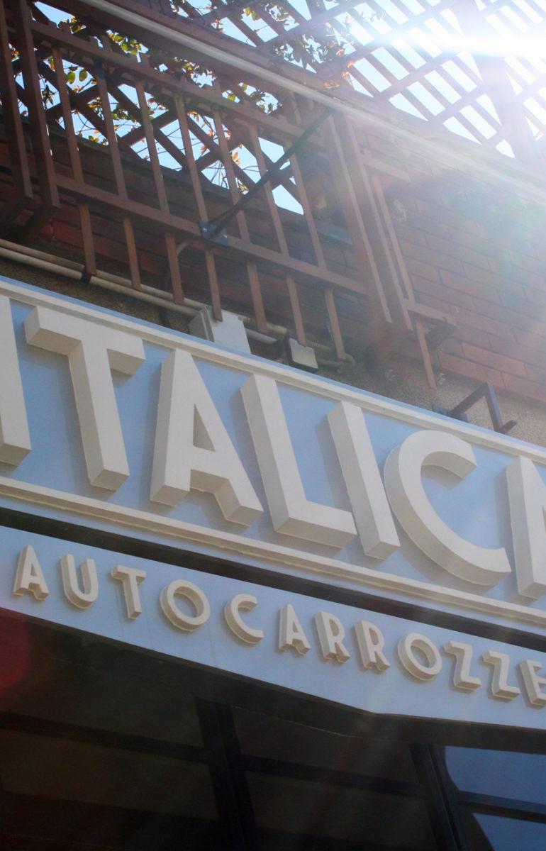 Insegna 3D Italica Autocarrozeria