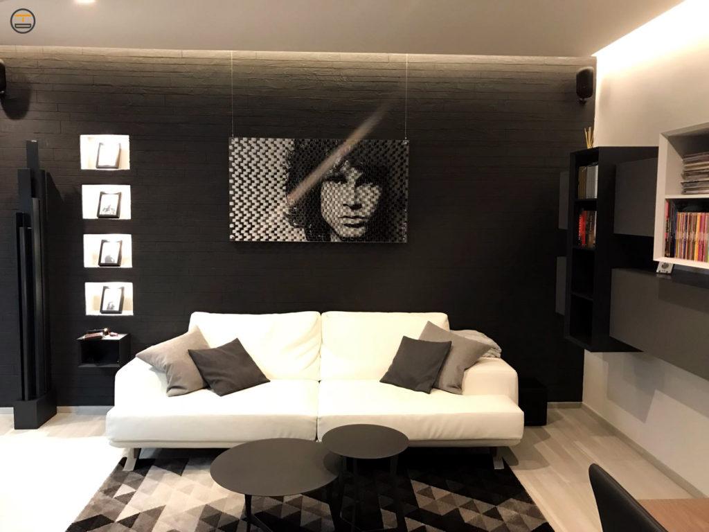Quadro Plexiglass Tre strati Jim Morrison