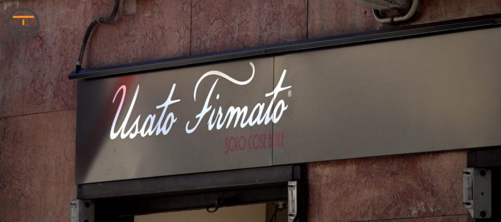 Insegna Pannello centro Torino