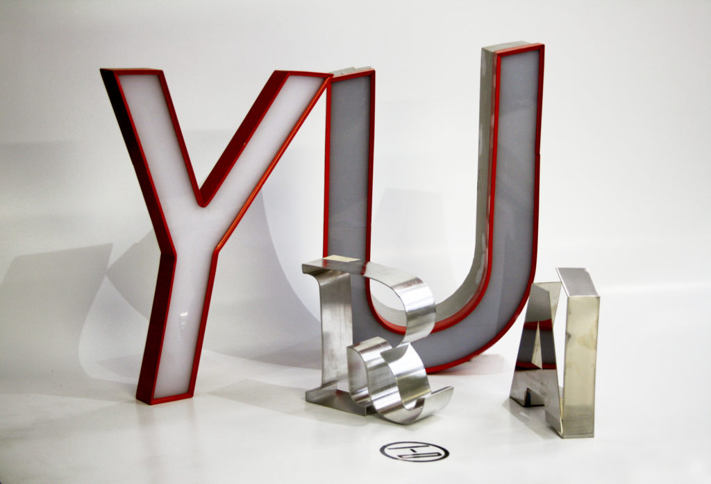 In-D Insegne Lettere 3D
