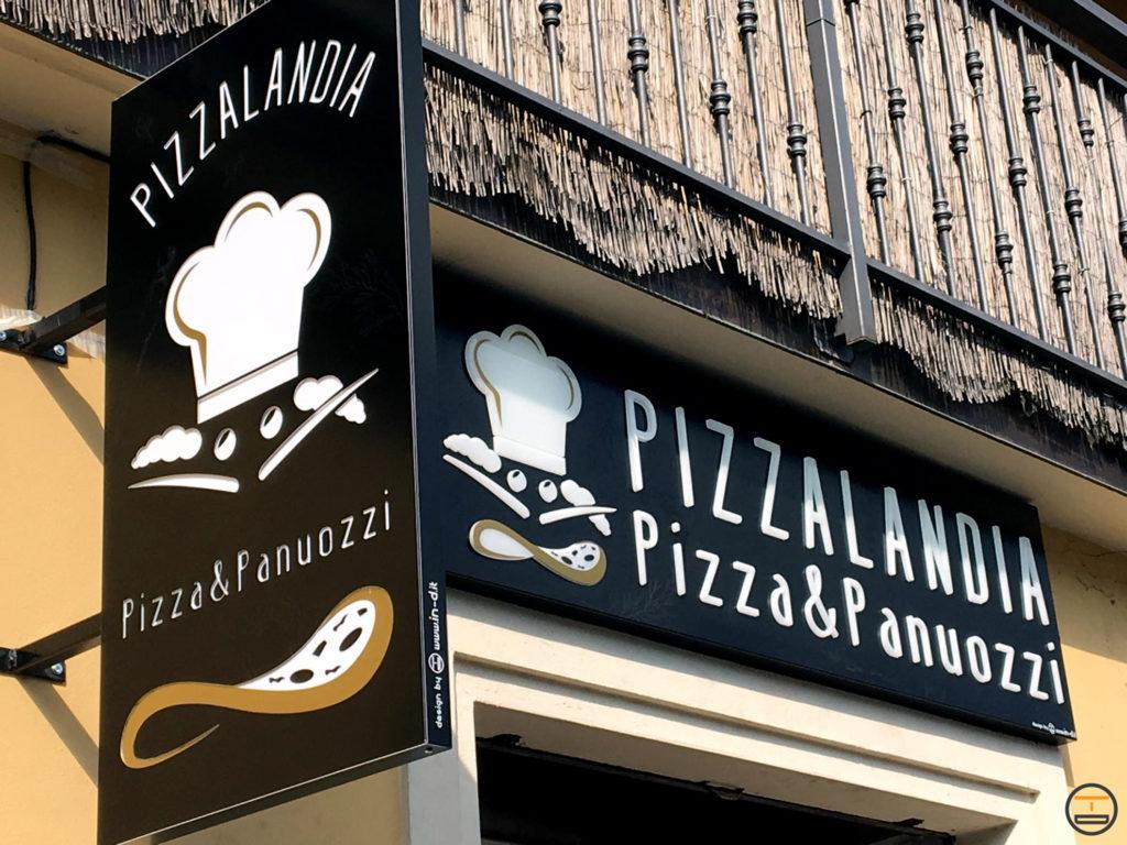 insegne pizzeria pizzalandia
